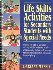 Life Skills Activities for Secondary Students with Special Needs, Grades 7-12...
