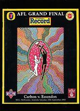 1993 Grand Final record Match Day Edition Carlton vs  Essendon Premiers