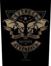 AVENGED SEVENFOLD - Rückenaufnäher Backpatch Orange County