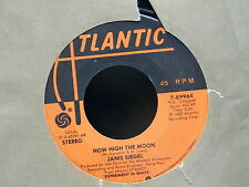 JANIS SIEGEL How high the moon / don't get scared 7-89964 ATLANTIC