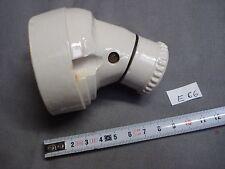 applique ancienne porcelaine douille B22 (réf E66)