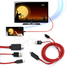 MHL Micro USB to HDMI 1080P HD TV Cable Adapter 2M for Samsung Galaxy S4 5