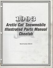 1993 ARCTIC CAT SNOWMOBILE CHEETAH PARTS MANUAL P/N 2254-863 (139)