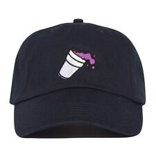Double Cup Hat - NAVY Lean Dad cap Syrup Future Codeine Crazy YAMS Twitter