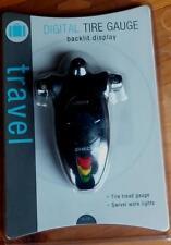 Travel Brand Digital Tire Gauge - Backlit Display - BRAND NEW IN PACKAGE