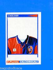 CALCIATORI PANINI 1998-99 Figurina-Sticker n.- MAGLIA CAGLIARI 1 PUNTO-New