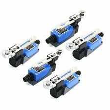 5Pcs ME-8108 Adjustable Roller Lever Arm Limit Switch NC-NO CNC Mill Router