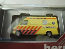 Herpa MB Sprinter holländische Ambulance Midden-Limburg in OVP aus Sammlung (6)