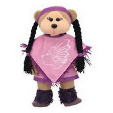 "SKANSEN BEANIE KID ""BEK THE NATIVE AMERICAN BEAR""   MINT WITH MINT TAG  PR. EXCL"