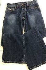 MEN'S DIESEL JEANS Size 31 x 32 ZAGHOR Wash 008TA Button Fly