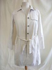 Mesdames manteau-TOMMY HILFIGER, taille m / m, blanc cassé, de même que Mac, ceinture, vérifiez 2015