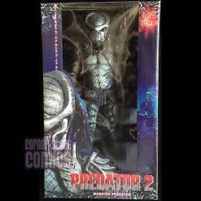 "Predator 2 WARRIOR PREDATOR 18"" Action Figure 1/4 Scale NECA New in Box!"