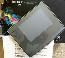 Wacom INTUOS3 4x6 wide TABLET USB for Macs Windows Factory BOX NEVER DRAWN ON