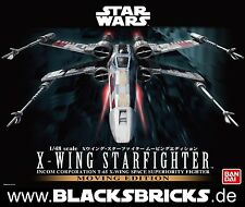 Star Wars X-Wing fighter moving Edition, Sound & Light, 1/48 de Bandai, Kit