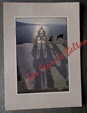 GRECE EGLISE CLOCHES TIMBRE KAPETTA CARETTA 1990    postcard