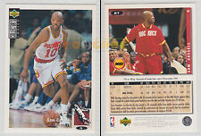 NBA UPPER DECK 1994 COLLECTOR'S CHOICE - Sam Cassell # 87 Ita/Eng MINT
