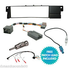 BMW 3 Series E46 CD Radio Fitting Installation Kit Fascia Facia & Stalk Adaptor