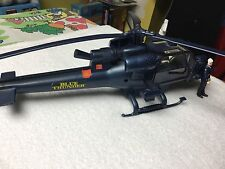 1983 blue Thunder astro division helicopter with pilot near  complete