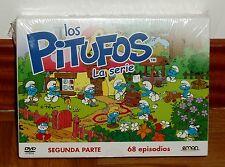 LOS PITUFOS - SEGUNDA PARTE - 12 DVD - PRECINTADO - NUEVO - ANIMACION - SERIES