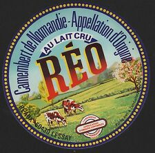 Etikett für Käse / RÉO - cheese label - étiquette de fromage # 1813