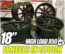 "18"" ALLOY WHEELS BMW FITMENT ALLOYS STAGGERED CONCAVE WIDTH 8j & 9j 3 4 5 series"