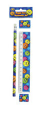 24 Happy Face 4-Piece Stationery Sets - Brand New Wholesale Stationary