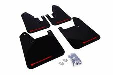 Rally Armor Black Mud Flap w/ Red Logo For 98-02 Subaru Forester
