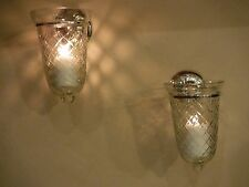 Sterling Silver Wall Candle Sconces