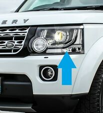 Land rover discovery 4 2014-2016 head light lampe n/s lh halogène rhd conversion