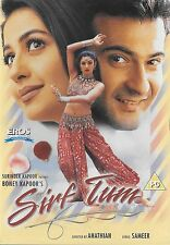 SIRF TUM - SANJAY KAPOOR - PRIYA GILL - NEW BOLLYWOOD DVD - FREE UK POST