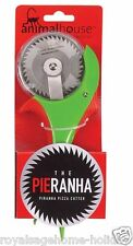83988 Pie-Ranha Pizza Cutter Animal House Piranha Fish Kitchen Utensil Novelty