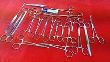 LOT 90 PCS CANINE FELINE SPAY PACK VETERINARY SURGICAL INSTRUMENTS