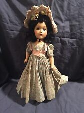 "Antique 1930s 15"" Composition Madame Alexander Scarlett O'Hara Doll! Amazing!"