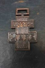 Free French 1940-45 soldiers medal  rare