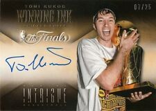 2013-14 PANINI INTRIGUE TONI KUKOC WINNING INK AUTO 7/25