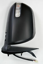 Toyota Hilux Mk7 2.5TD/3.0TD Door/Wing Mirror Black Electric R/H O/S - 2012 On