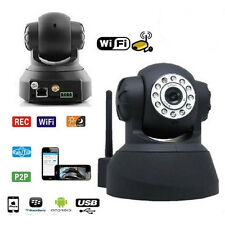 TELECAMERA IP CAMERA INFRAROSSI WIRELESS WI-FI CAM SD KIT VIDEOSORVEGLIANZA