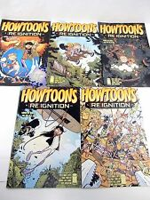 HOWTOONS Reignition #1 2 3 4 5 projects to build PVC pipe shooter Go Cart comics