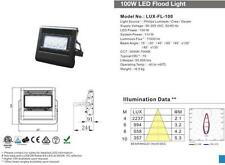 large led flood light 12 x13 50 leds remote lux-fl-100