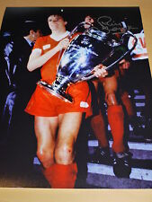 Phil Thompson Signed 16x12 Liverpool FC 1981 European Cup Final Photo - Proof