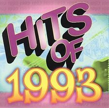 Hits of 1993 Rock Hits of '93 MUSIC CD