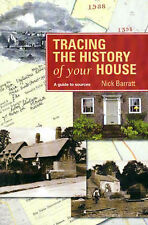 Tracing the History of Your House by Nick Barratt (Paperback, 2001)