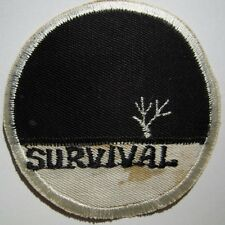 "60s 70s ""SURVIVAL"" School Asian Made Patch - USAF"
