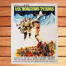 PETER FINCH CHARLES JARROTT AFFICHE 60X80 CM LES HORIZONS PERDUS LOST HORIZON
