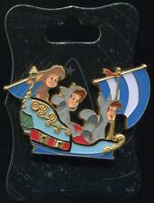 WDI D23 - Peter Pan's Flight Lost Boys Twins Nibs - LE 300 Disney Pin 110642