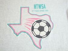 Vintage NTWSA North Texas Women's Soccer Association Champs 1992 90's T Shirt XL