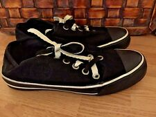 JUICY COUTURE Fashion Double String Converse Canvas Walking Women's Shoes Size 6