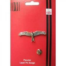 Red Kite English Pewter LAPEL PIN Badge Bird of Prey Hawk Birthday Present