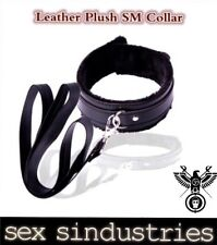 luxury leather bondage kit collar and lead fetish dominitrix gimp