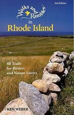 Walks and Rambles in Rhode Island: 40 Trails for Birders and Nature Lo-ExLibrary